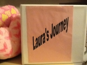 Laura's Journey Notebook