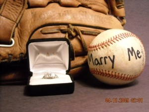 Proposal ring baseball