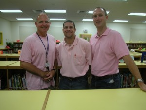 Real men do wear pink!
