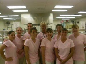 RBW fabulous 'lunch bunch' looking good in pink!