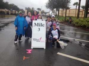 3 mile marker! Woohoo! Almost done.